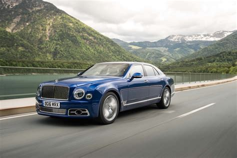 2017 Bentley Mulsanne Drive Review Motor Trend