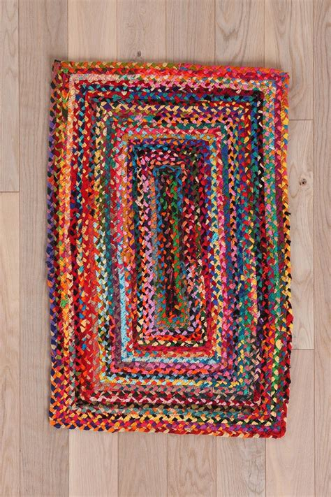 urbanoutfitters rugs rectangle braid rug outfitters