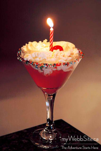 birthday cake martini martini birthday cake
