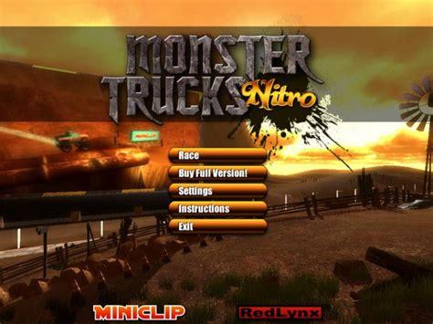 monster trucks nitro 2 download monster trucks nitro download