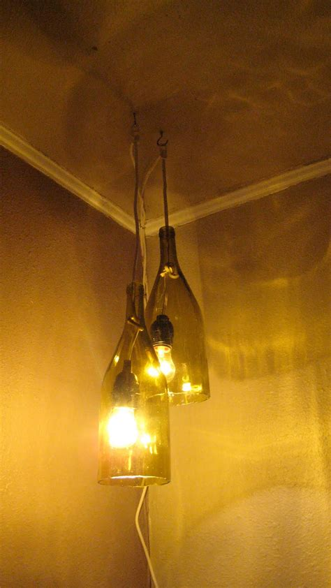 wine bottle hanging lights ideas creative pendant light ideas to spruce up your