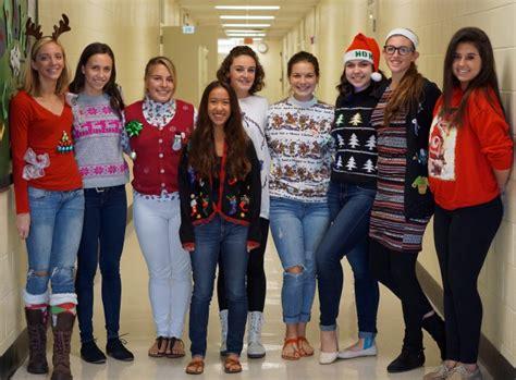 Sweater Sday sweater day gulf high school