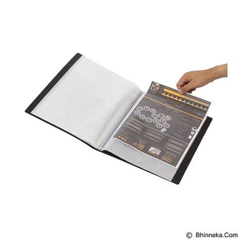 Harga Clear Holder A4 jual bantex display book 40 pockets a4 3145 10 black