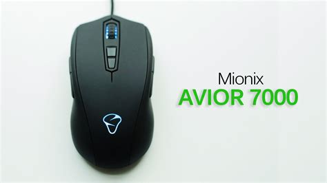 Mouse Mionix Avior 7000 mionix avior 7000 optical gaming mouse review