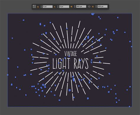 illustrator tutorial light how to create vintage vector light rays in illustrator