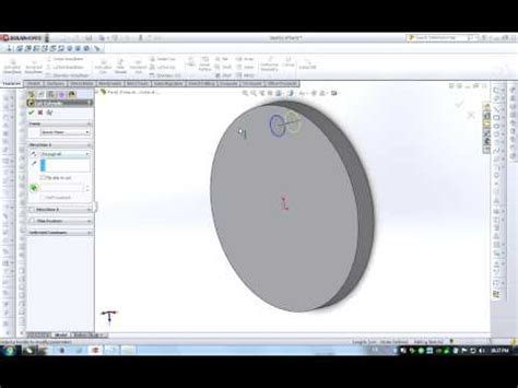 circular pattern solidworks youtube solidworks beginner tutorial circular pattern youtube