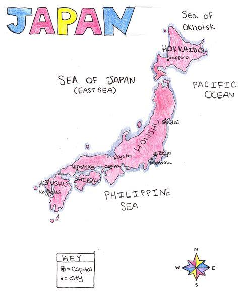 political map of japan map japan political