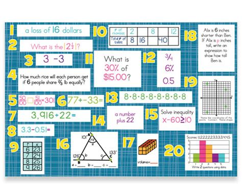 Mountain Math 4th Grade Worksheet by Mountain Math Fourth Grade Worksheet Mountain Math
