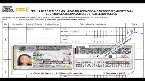 formato credencial de elector el ife presenta el nuevo formato de la credencial de