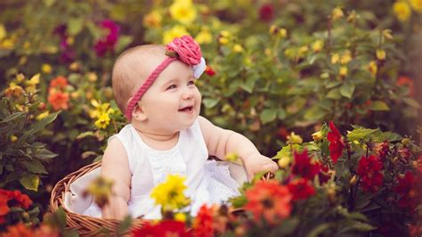 desktop wallpaper hd cute baby cute baby rose garden wallpaper hd wallpapersfans com