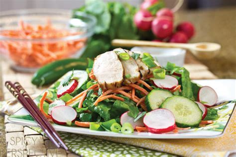 recipe fried calamari salad villeroy boch blog recipe vietnamese banh mi salad villeroy boch blog