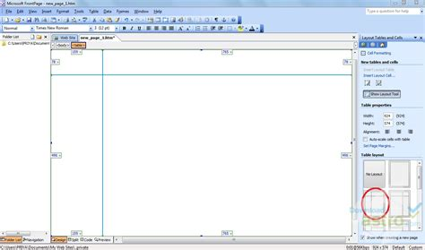 microsoft office frontpage 2003 add a layer youtube