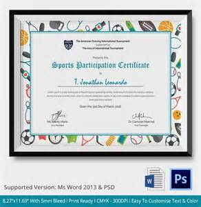 participation certificates templates participation certificate template 14 free word pdf