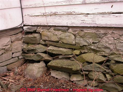 Parging A Basement Wall by Stone Foundations Amp Walls How To Recognize Amp Diagnose