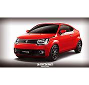 Suzuki Ignis Turned Into Coupe In The Digital World