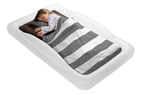 shrunks toddler travel bed portable inflatable air mattress bed  toddlers  travel