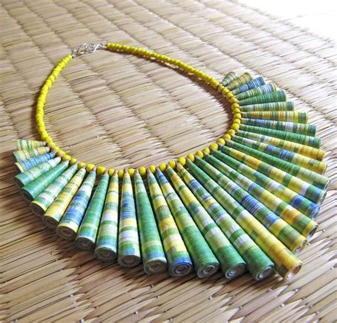 Paper Bead Crafts - pin by debbie dalby on craft paper bead jewelry