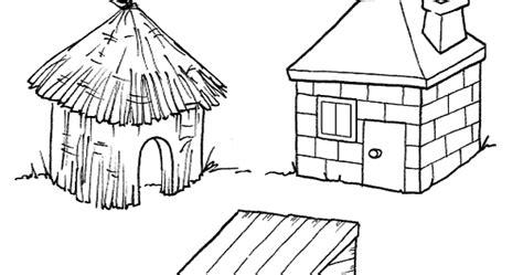 lade colorate escuela infantil castillo de blanca colorear los tres