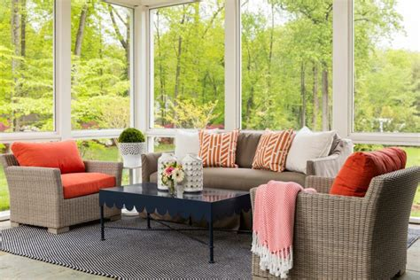 sunroom couch 75 awesome sunroom design ideas digsdigs
