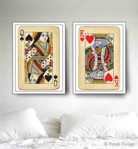 king and queen home decor 17 best images about christmas poker theme on pinterest