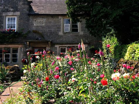 in a cottage garden cottage garden 1858 growing