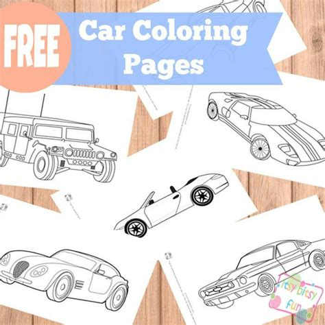 Cing Themed Coloring Pages car coloring pages let s make it let s do it