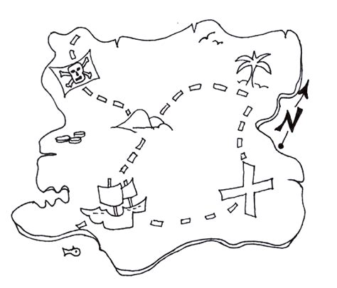 Treasure Map Coloring Pages creative writing search and coloring on