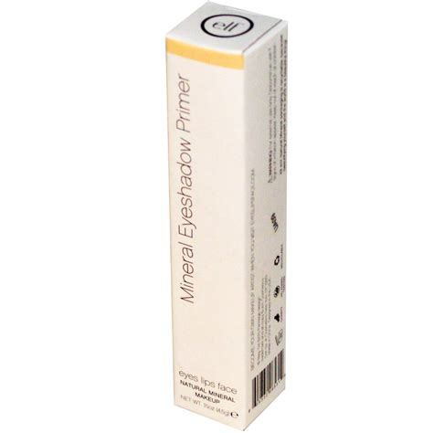 E L F Mineral Eyeshadow Primer e l f cosmetics mineral eyeshadow primer sheer 15 oz