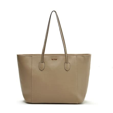 Mng Touch Original mango inspired saffiano shopping tote bag malaysia daily