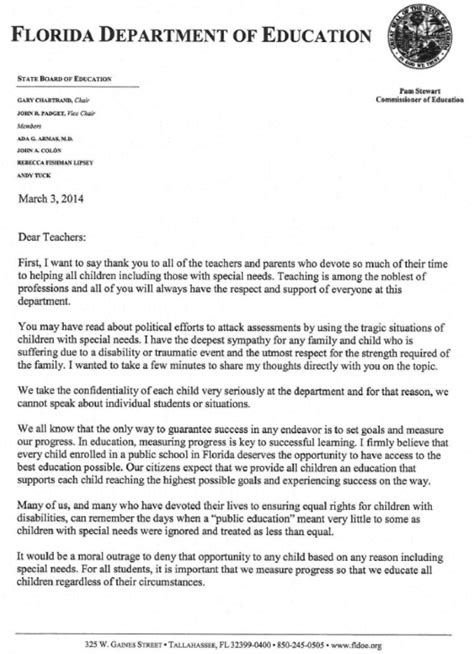 Parent Letter About Student Progress The Tyranny Of Testing Part Ii Stately Mcdaniel Manor