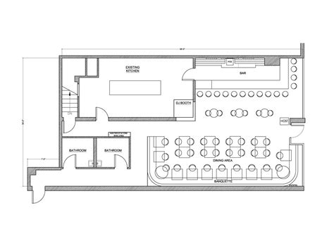 Floor Plans Bar | grill and bar floor plans service slyfelinos simple
