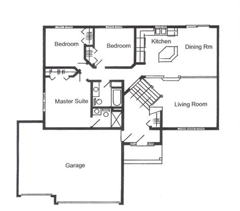 split entry split foyer floor plan ashton minnesota new