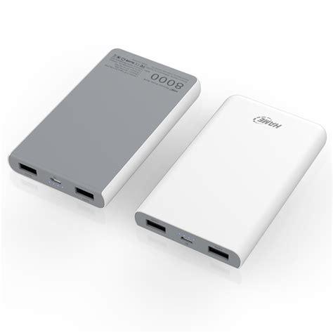 Hame X1p Power Bank 2 Port Usb 8000mah White T1310 hame x1p power bank 2 port usb 8000mah white jakartanotebook