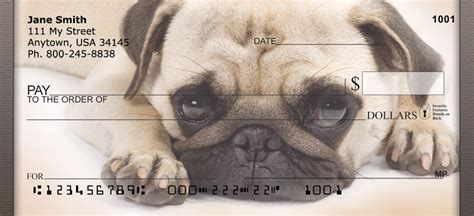 pug personal checks pug personal checks at cooldogchecks