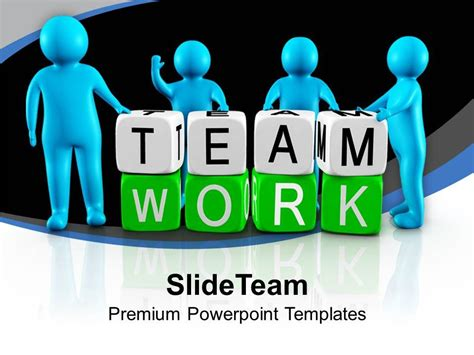 team powerpoint templates free 3d working as team teamwork powerpoint templates ppt
