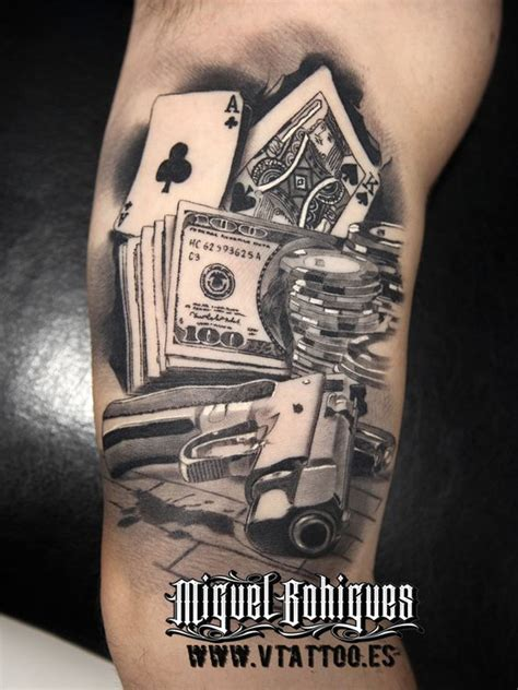 21 exciting gambling tattoos