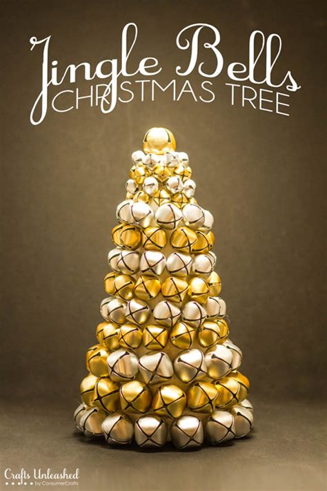 diy christmas decor jingle bell tree crafts unleashed