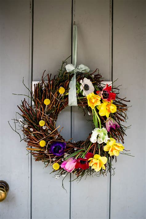spring wreaths to make make a spring wreath housewife confidential