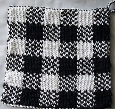 pattern holder knitting double knit pot holder double knitting pinterest