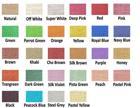 jute color jute colour swatch