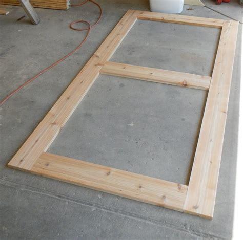 cedar table top bryan s site diy cedar patio table plans