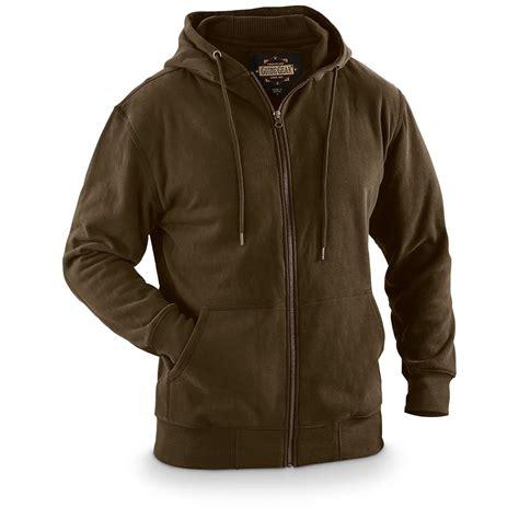 Hoodie I L Jidnie Clothing guide gear s thermal zip hoodie 671180