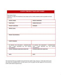 Project Sign Template Free by Sle Sign Form 7 Documents In Pdf