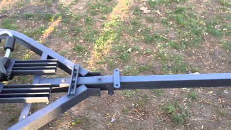 homemade boat trailer homemade kayak trailer youtube