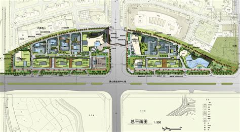 site plan design hefei 1912 commercial lacime architectural design