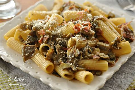 cucinare i carciofi giallo zafferano pasta con carciofi e speck