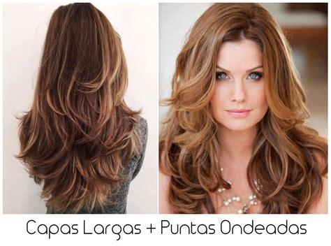 corte degrafilado largo adecuados peinados y cortes de cabello para rostro