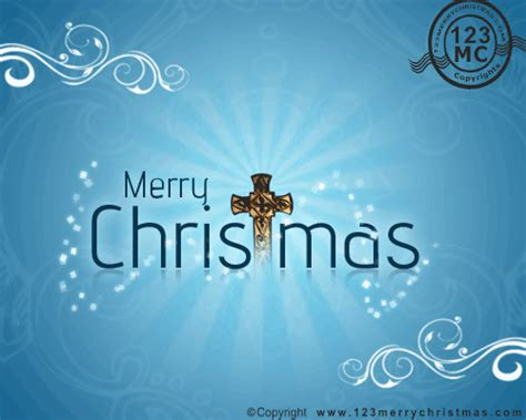 blessed christmas  ecard