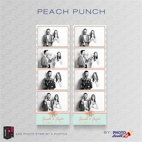 peach punch for darkroom booth photo booth talk