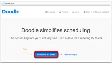 doodle poll for location doodle simplifies scheduling podfeet podcasts